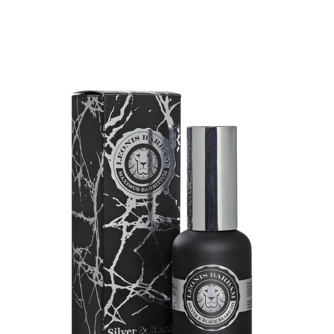 Leonis Barbam silver & black beard oil