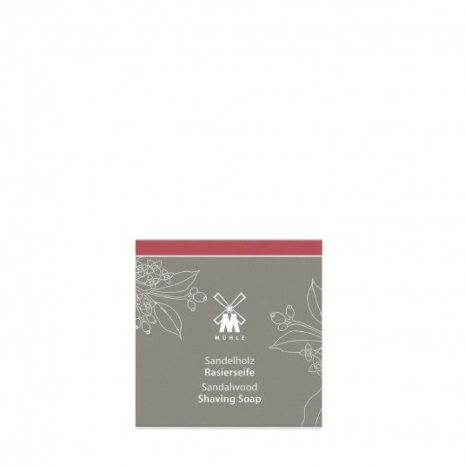 Muhle Sandalwood scheerzeep navulverpakking – 65g