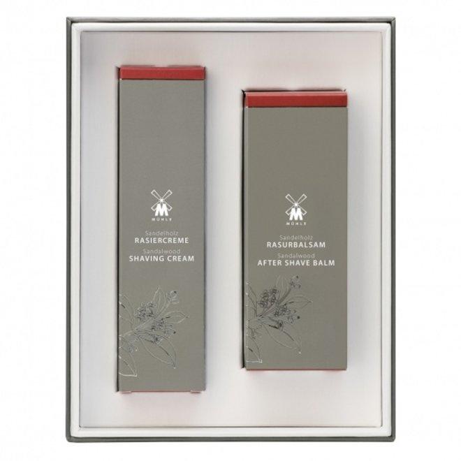 Mühle Skin care set (scheercreme en aftershave) Sandalwood