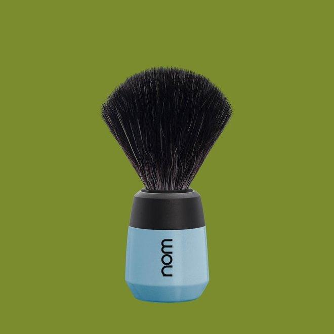 NOM MAX Scheerkwast Fjordblauw, Black Fibre