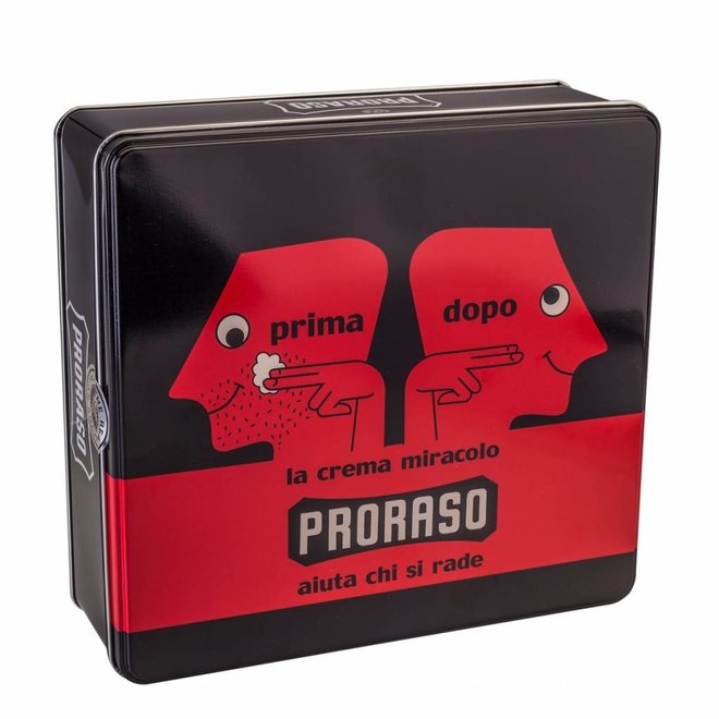 Proraso vintage gift box red