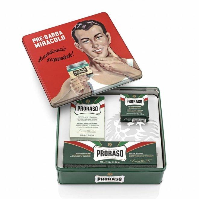 Proraso vintage gift box green