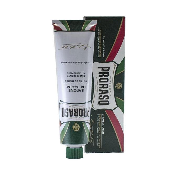 Proraso Scheercrème Green Menthol 150ml