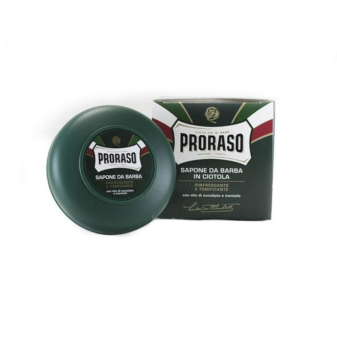 Proraso Scheerzeep Green Menthol 150ml
