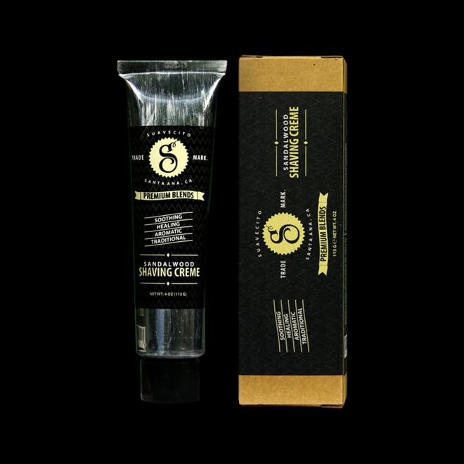 Premium sandalwood scheercreme