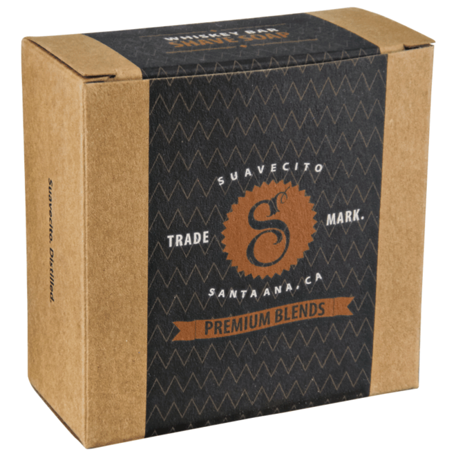 Suavecito Premium Whiskey Bar Scheerzeep