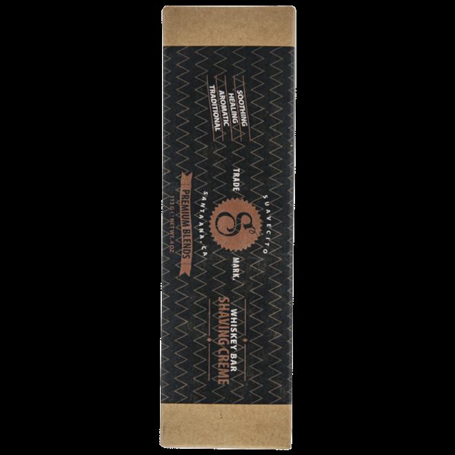 Suavecito Premium Whiskey bar scheercreme