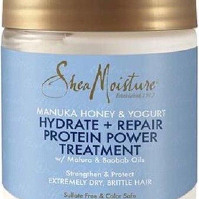 Shea Moisture Manuka Honey & Yogurt Hydrate + Repair Protein-Strong Treatment 227gr
