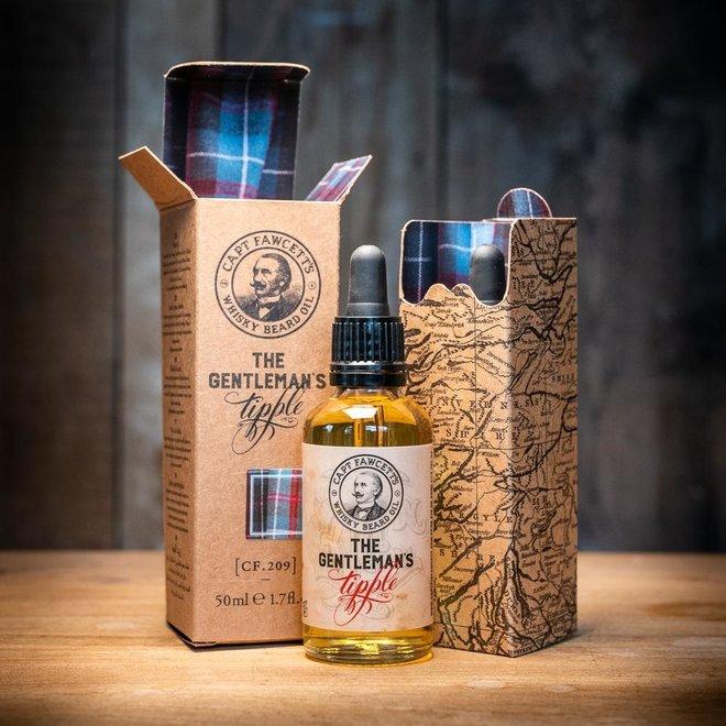 Captain Fawcett Whisky Baardolie 50 ml