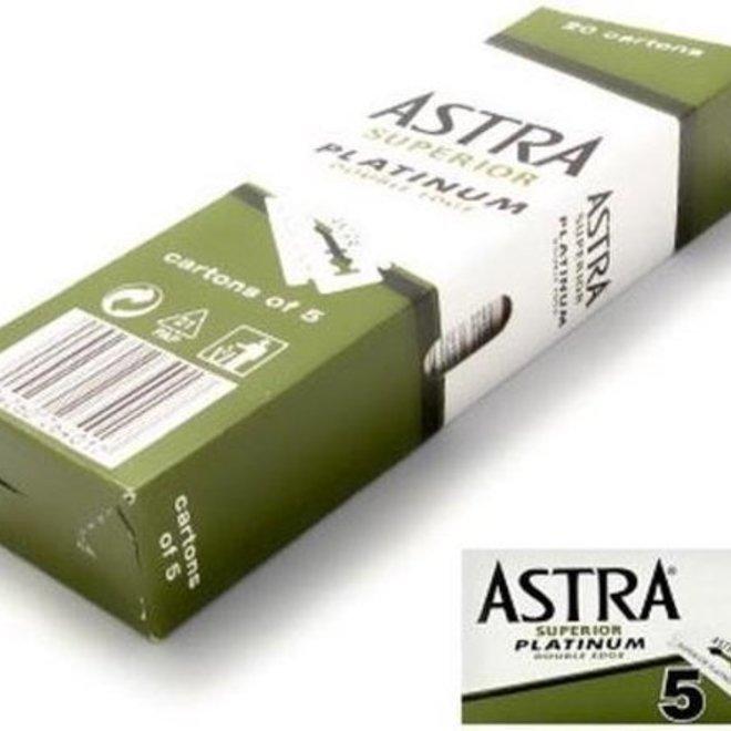 Astra Razor Blade Scheermesjes mannen - 100st - Double Edge scheermesjes