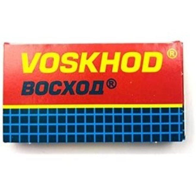 Voskhod Teflon Coated Double Edge Blades - 1 Doosje van (5 st)
