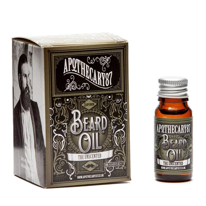 Apothecary87 - Baardolie - The Unscented 10 ml