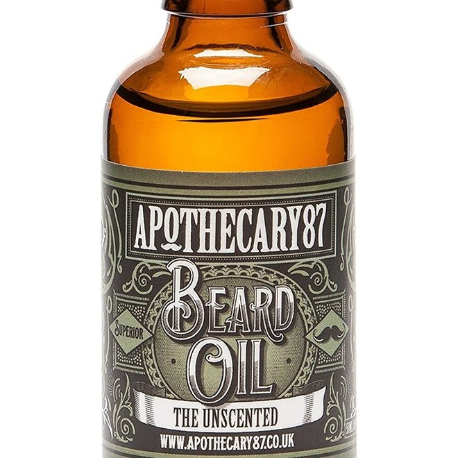 Apothecary87 - Baardolie - The Unscented 50ml