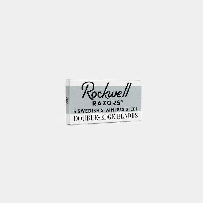 Rockwell Razors - 5 Double-Edge Razor Blades - 1 doosje van 5 stuks