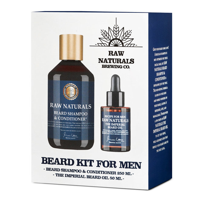 RAW Naturals - Beard Kit