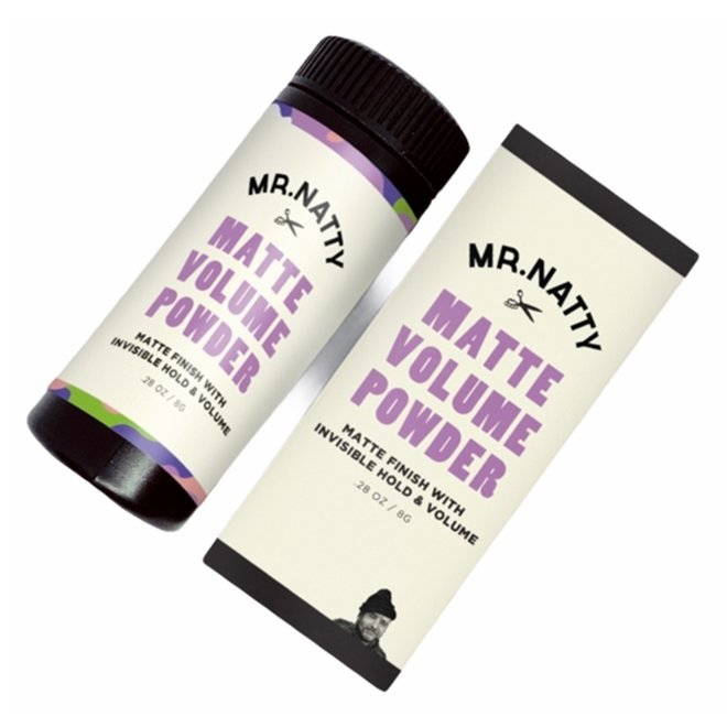 Mr Natty - Matte Texture Powder - 8g