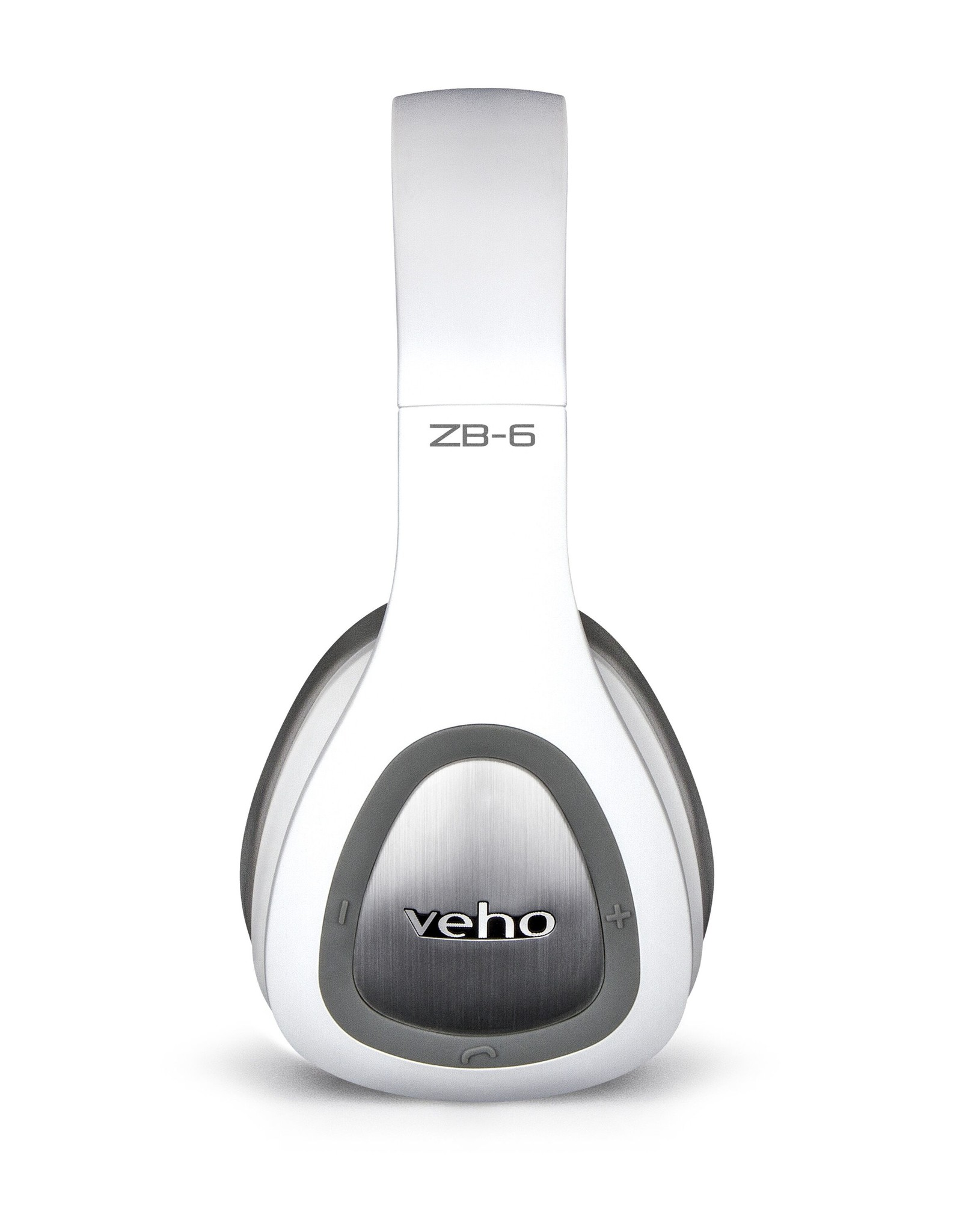Veho Veho ZB-6 On-Ear Wireless Bluetooth Headphones - White