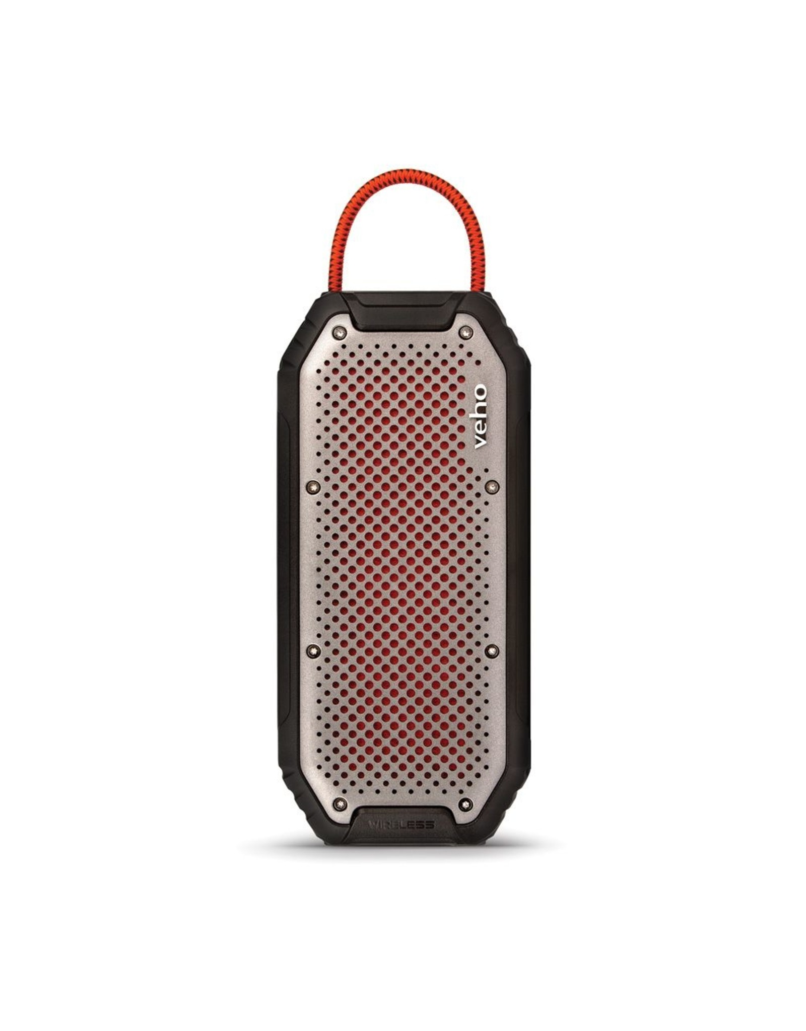 Veho Veho MX-1 Water Resistant Rugged Bluetooth wireless Speaker with built-in power bank