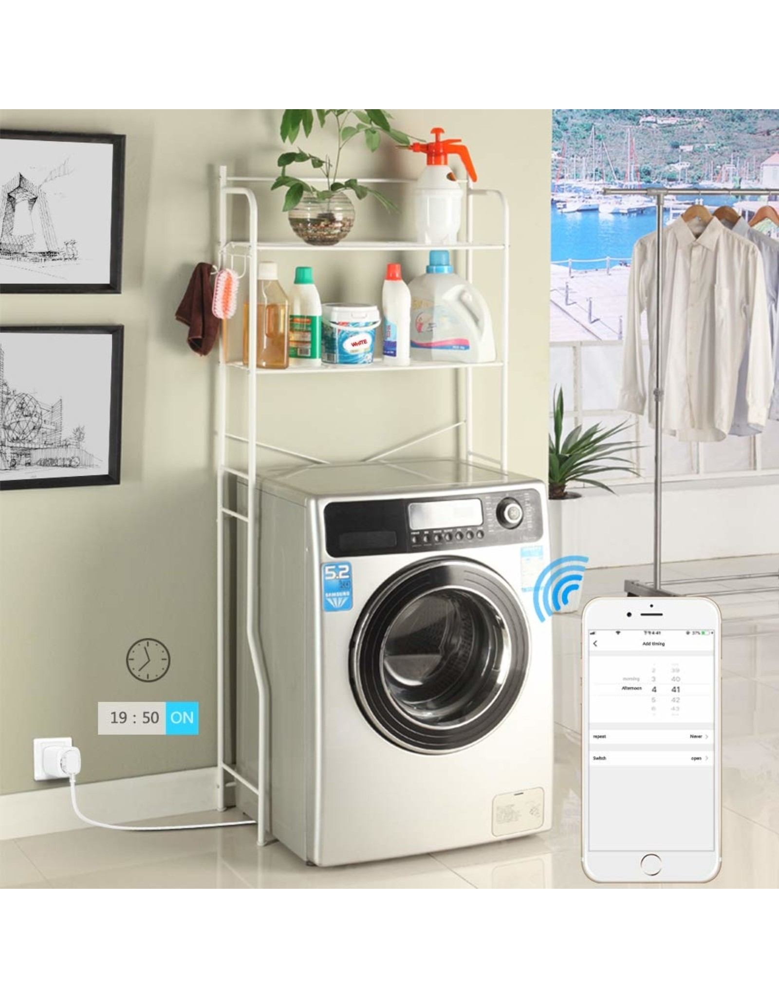 Woox Home 3-pack Woox Smart Home Plugs | R6080