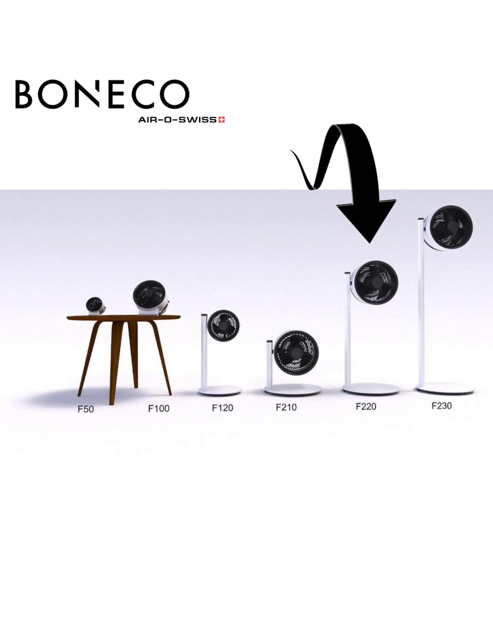 Boneco Boneco Airshower F220