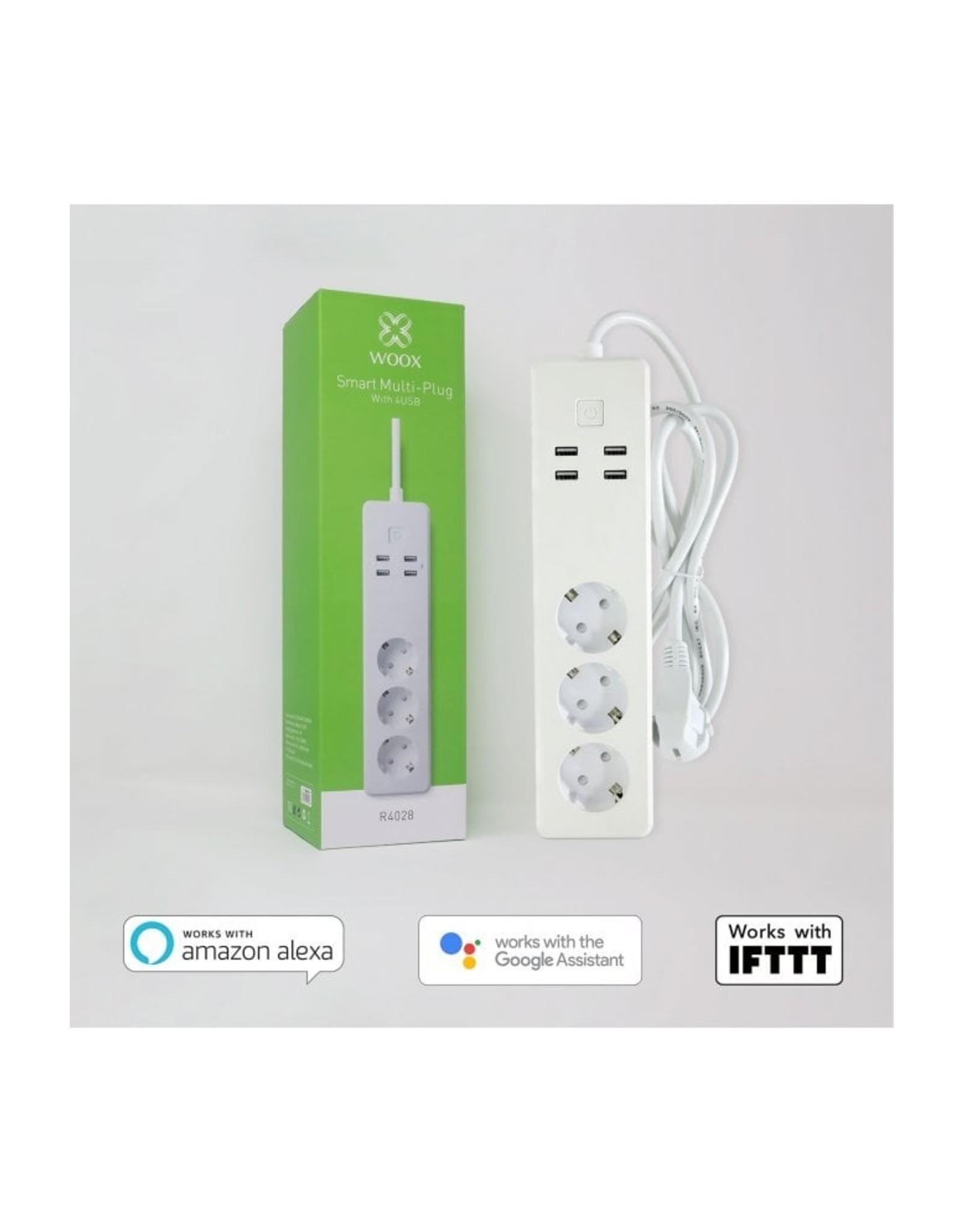 Woox Home Woox Smart Multi Plug | R4028