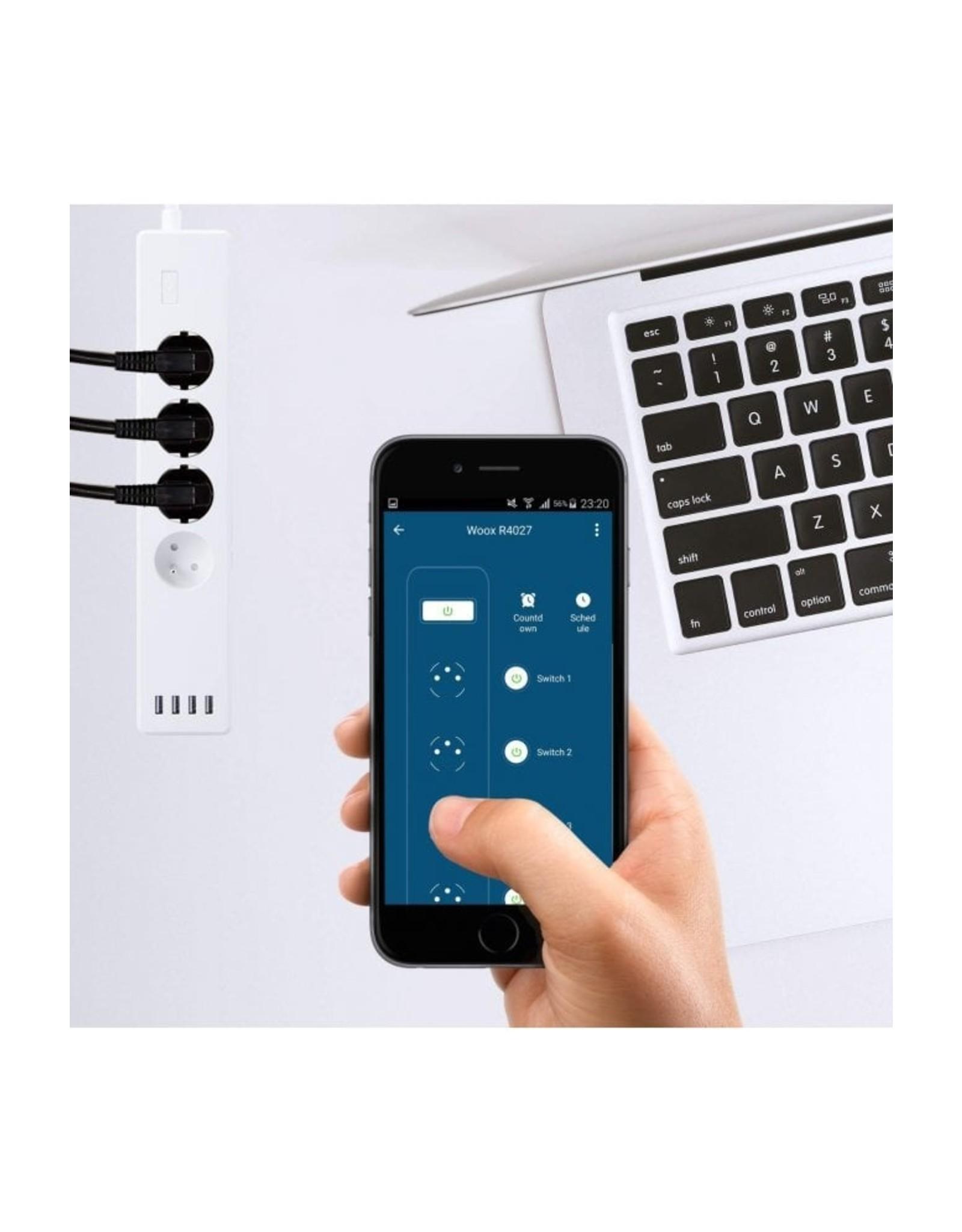 Woox Home  Woox Smart Multi Plug | R4027 | France-Belgium