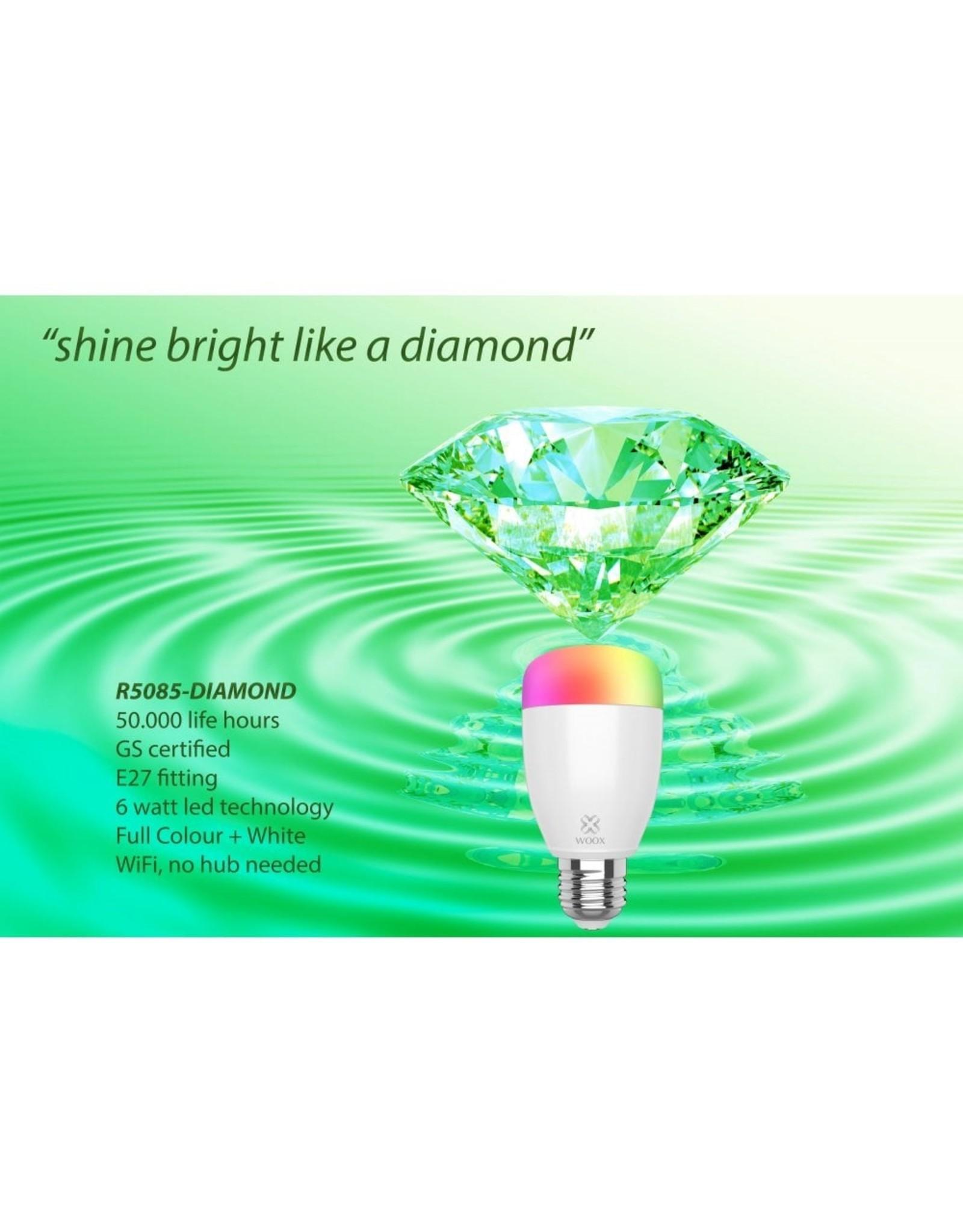 Woox Home Smart Bulb E27 RGB+WW High Performance   R5085