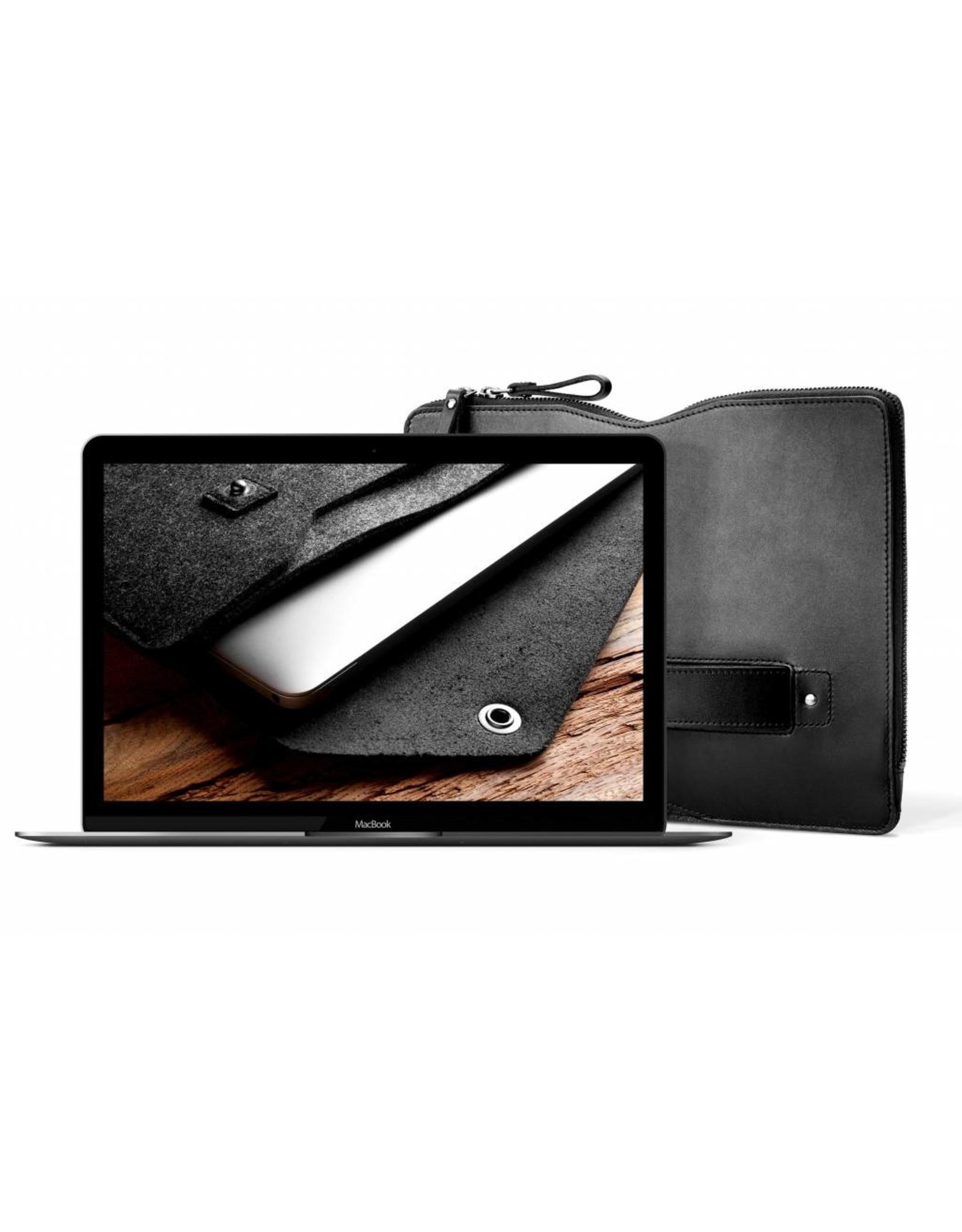 "Mujjo Mujjo 13"" MacBook Pro Folio Sleeve - Black"