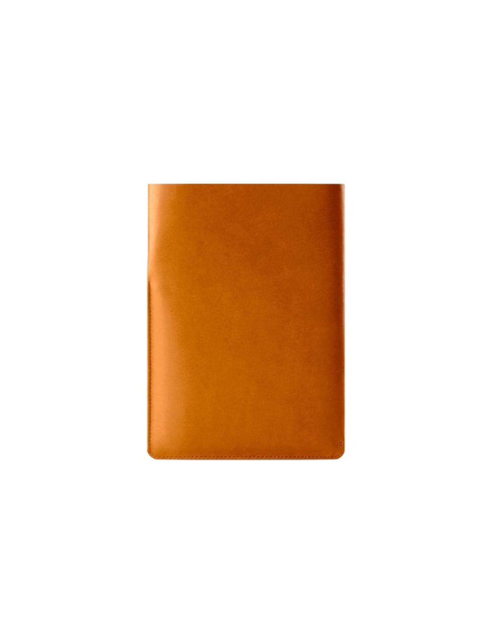 Mujjo Mujjo Slim Fit iPad Air Sleeve - Tan