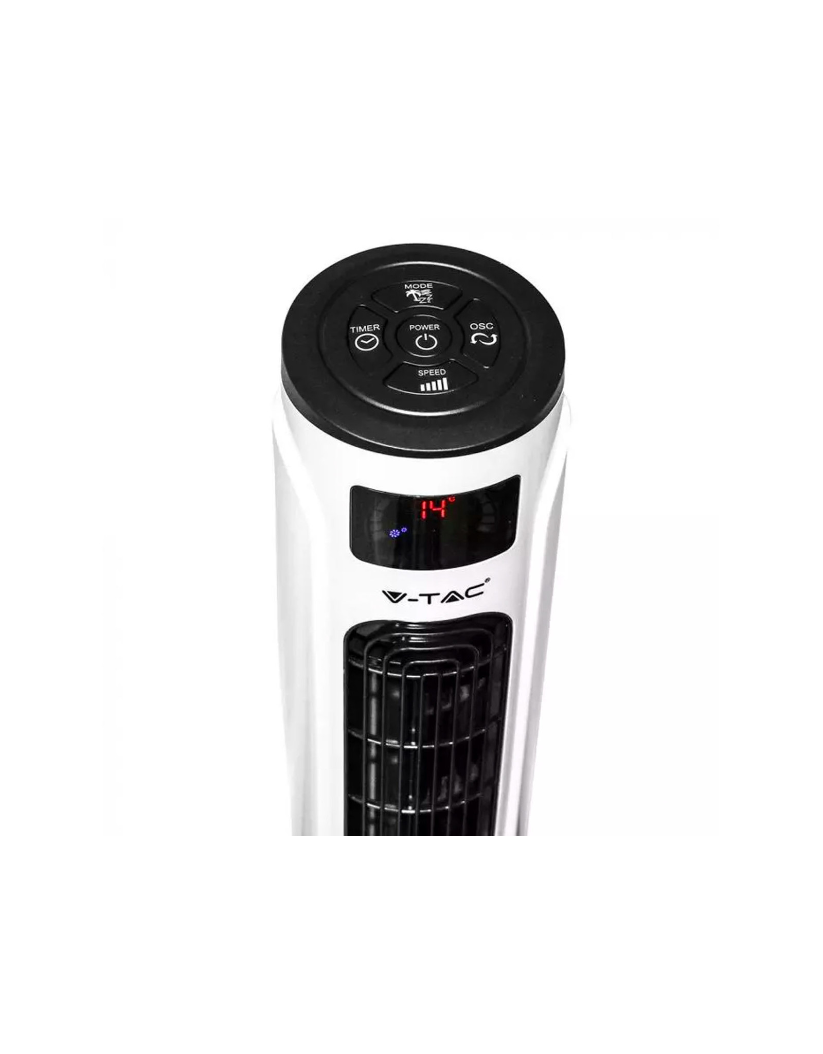V-tac V-TAC | VT-5547 55W LED TOWER FAN WITH TEMPERATURE DISPLAY AND REMOTE CONTROL(46INCH)