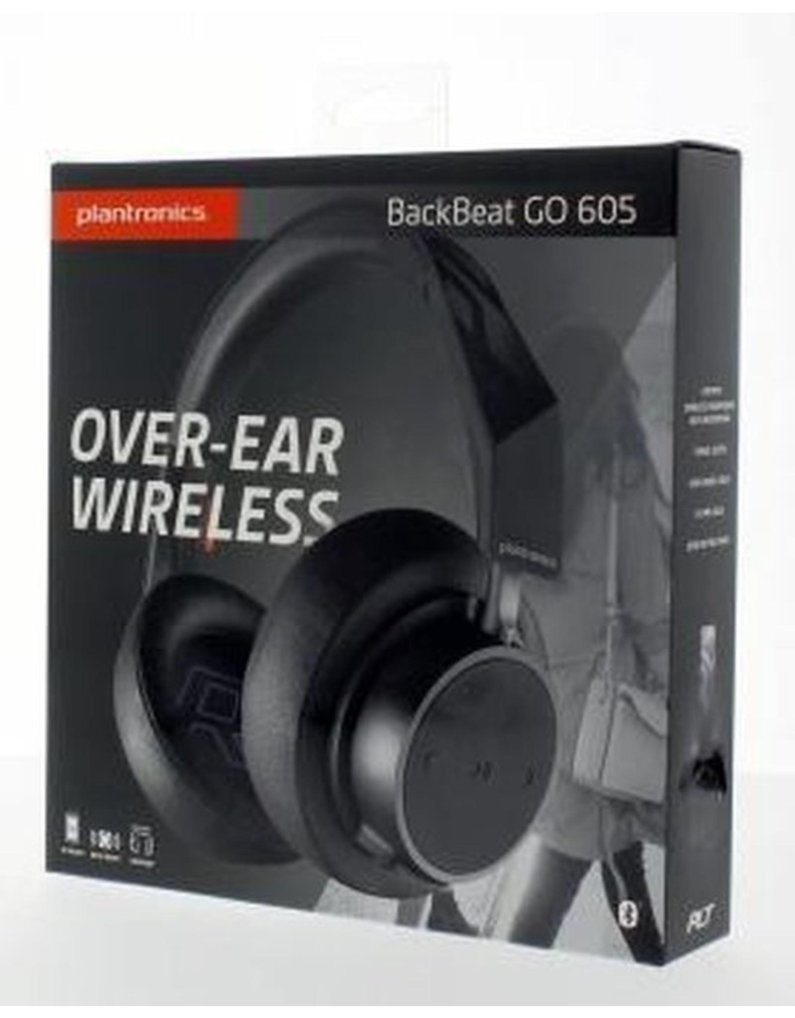 Plantronics Backbeat Go 605 zwart