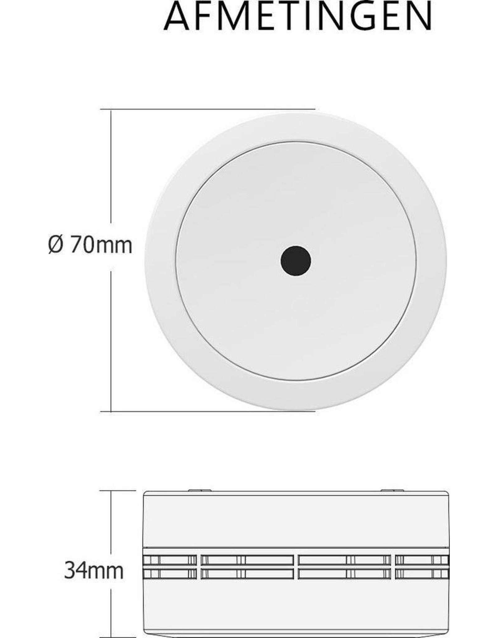 Elro 2-pack Elro FS7810 Compact Design Rookmelder