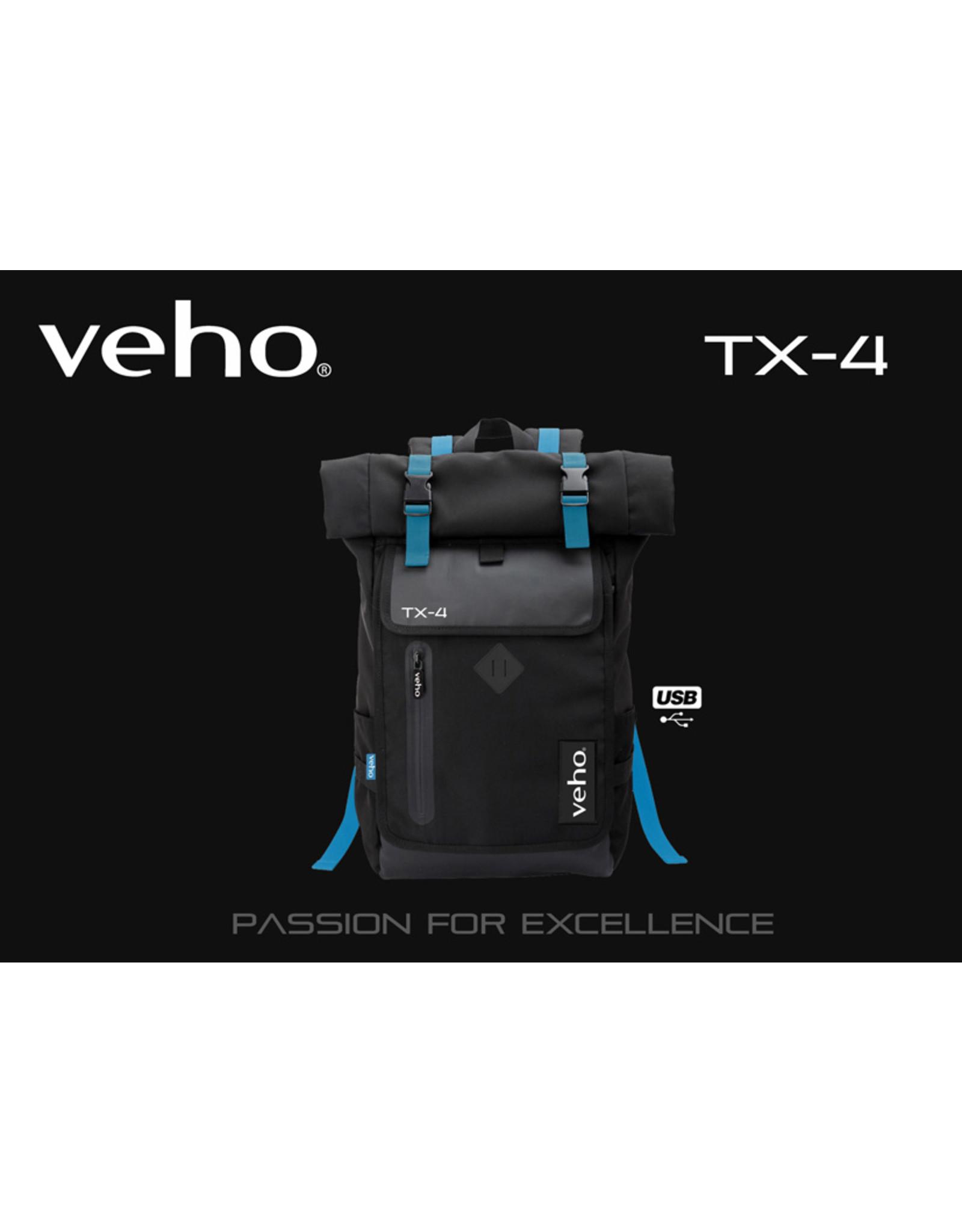 Veho Veho TX-4 Backpack notebook bag with USB port