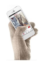 Mujjo Touchscreen Gloves Sandstone - Unisex