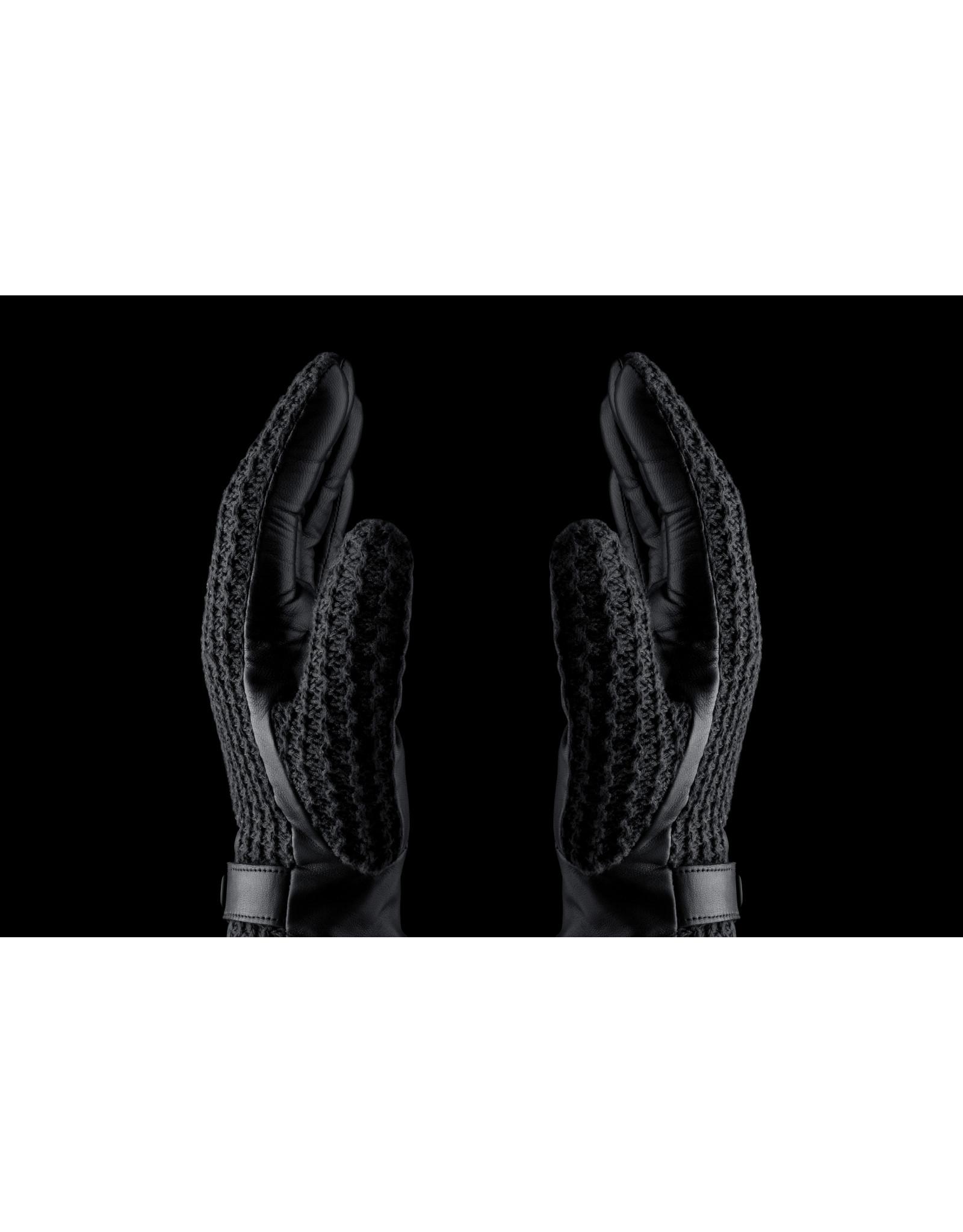 Mujjo Mujjo Leather Crochet Touchscreen Gloves