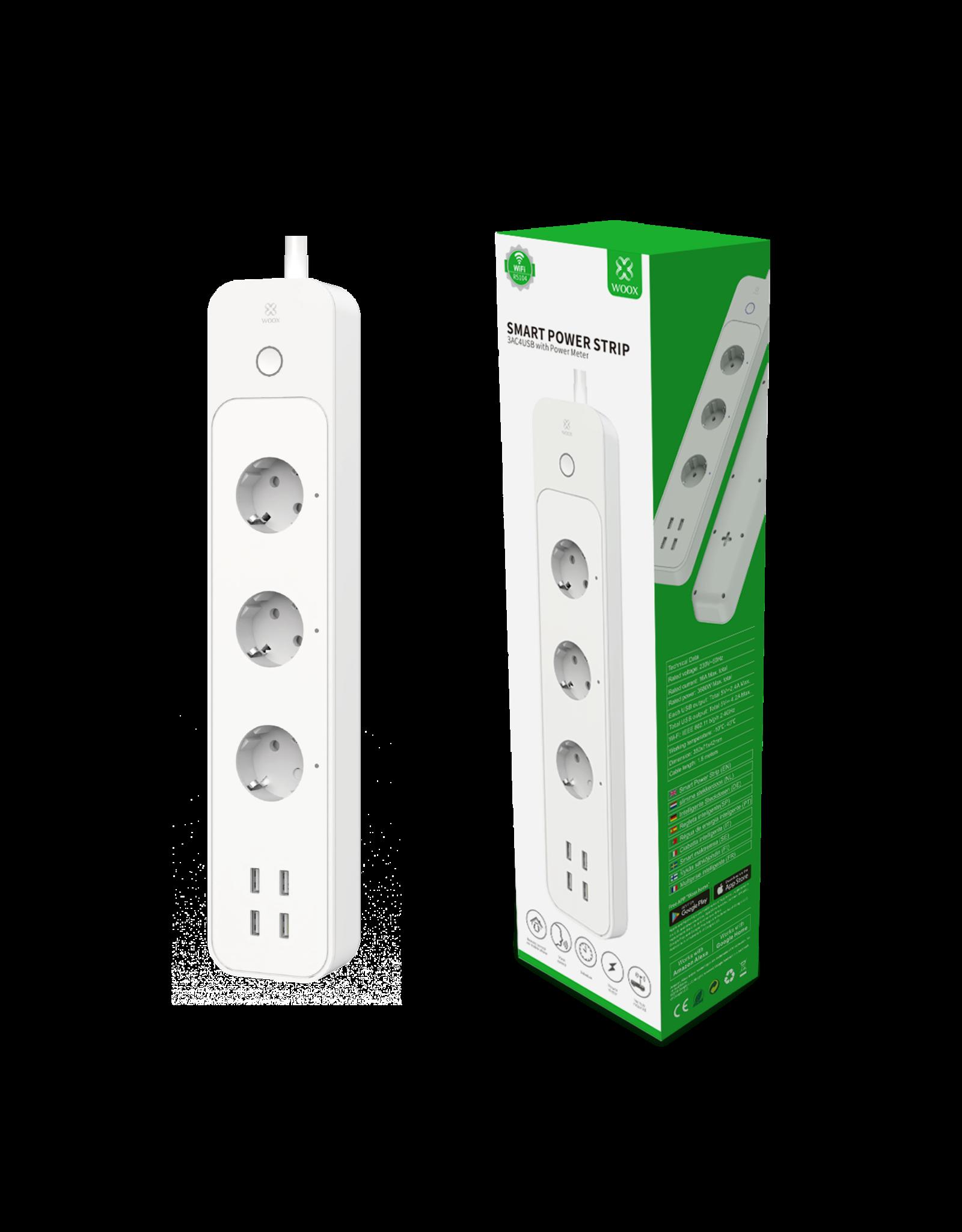 Woox Home Woox Smart Powerstrip Schucko EU | R5104