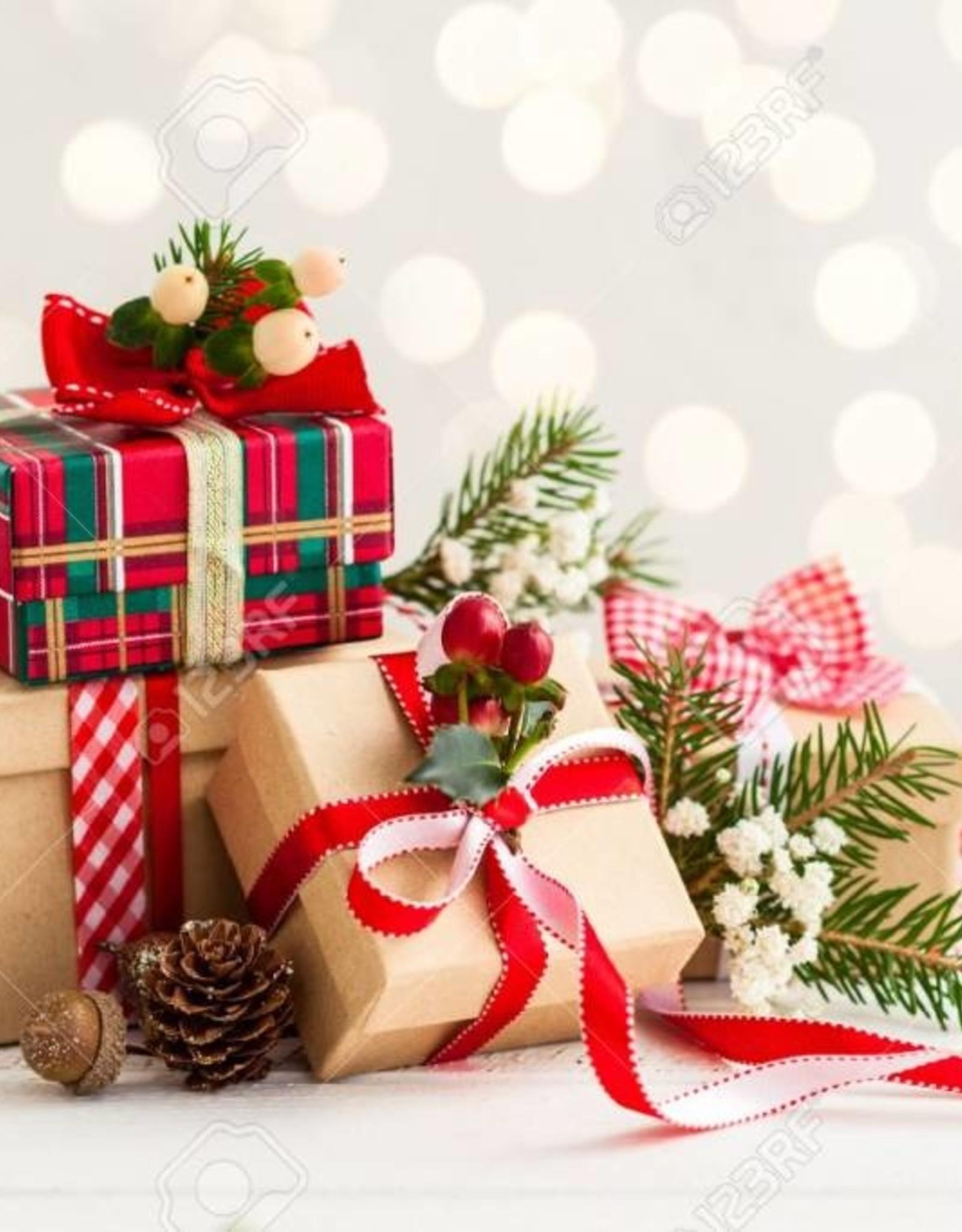 Kerst kado's voor onder de kerstboom