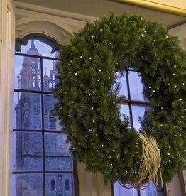 Kunst kerstkrans HUUR
