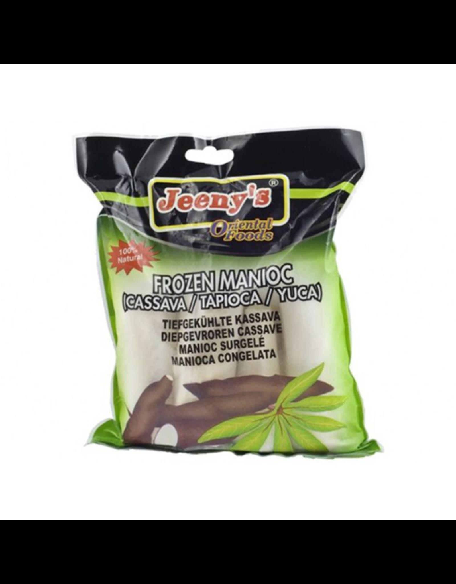 Jeeny's Cassava stukjes