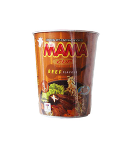 Mama Mie Cup Beef Flavour