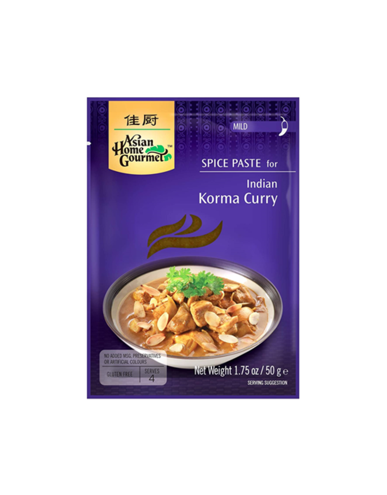 Asian Home Gourmet Indian Korma Curry