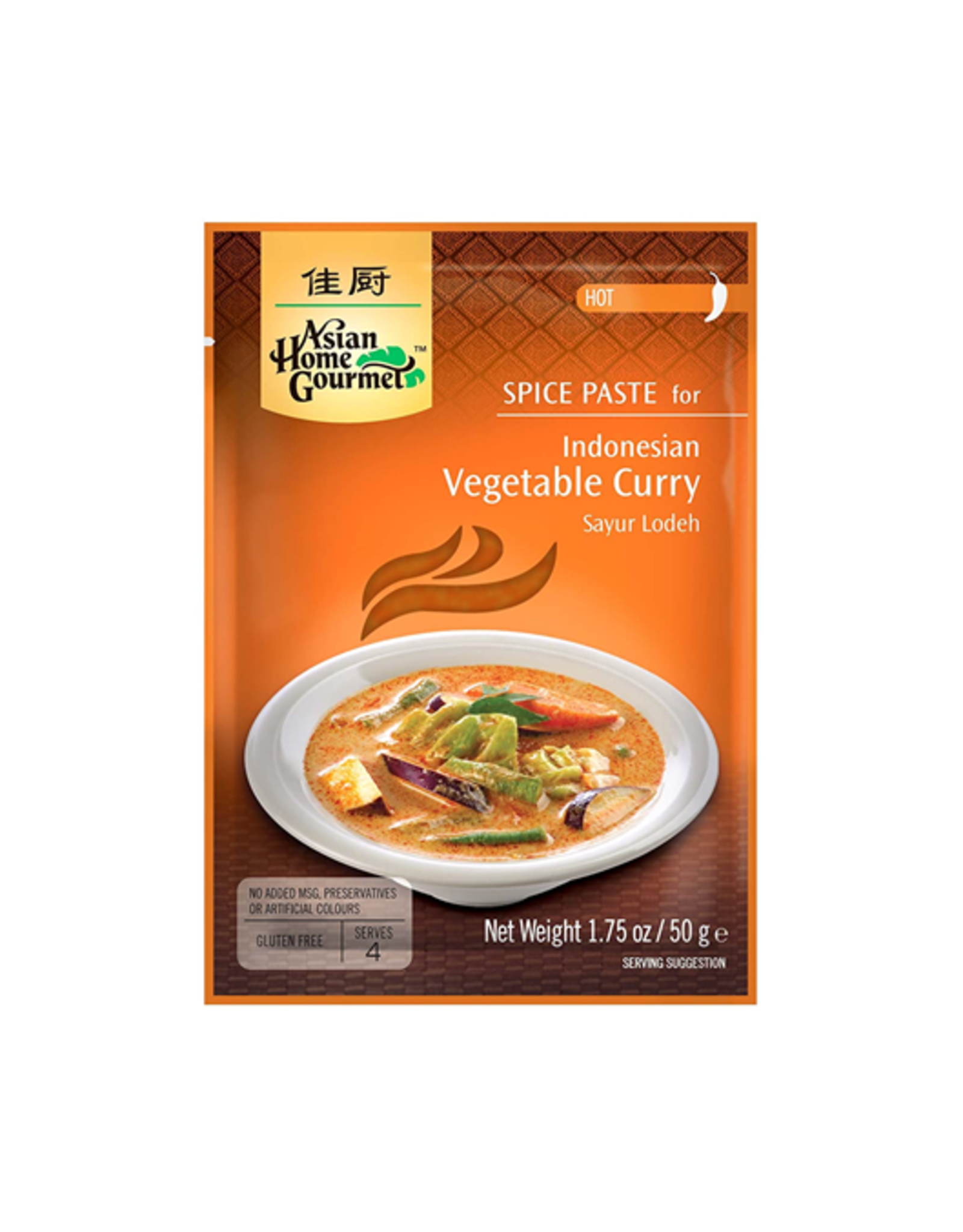 Asian Home Gourmet Indonesische Vegetable Curry