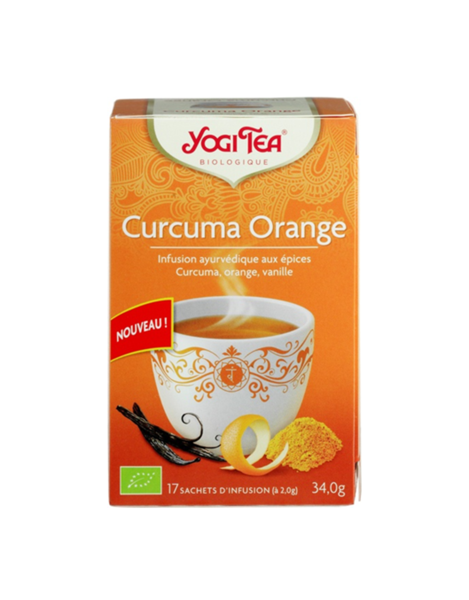 Yogi Tea Curcuma Orange