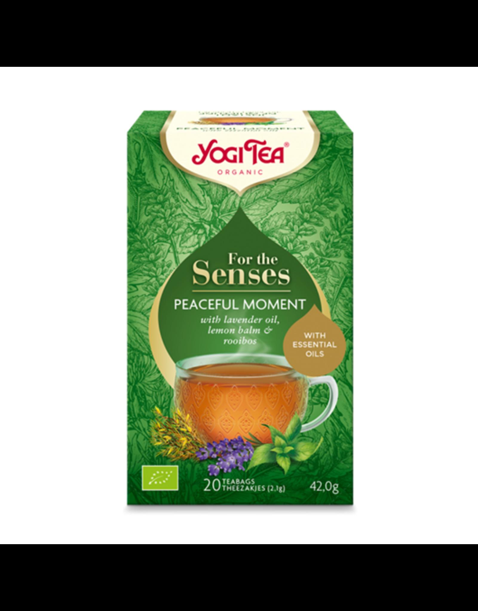 Yogi Tea For the Senses Peaceful Moment