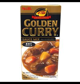 S&B Golden Curry Sauce Japanese Curry Mix Hot