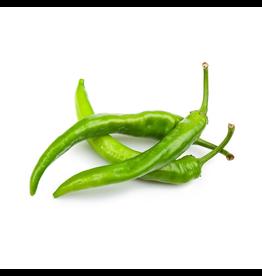 Pepers groen