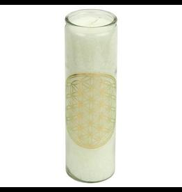 Yogi & Yogini Chakra Candle Flower of Life