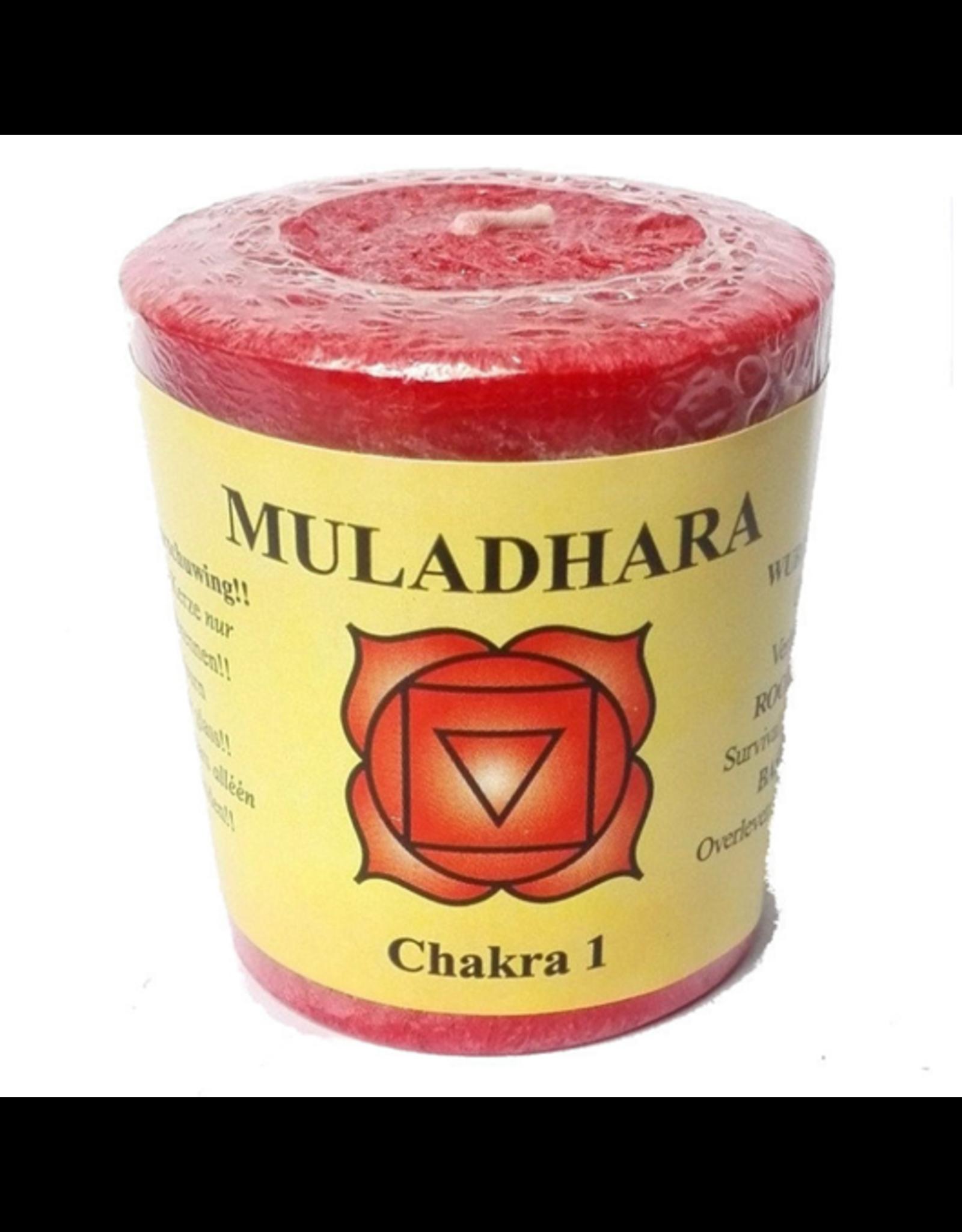 Yogi & Yogini Chakra Candle 1 Muladhara