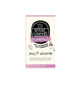 Royal Green Multi Woman