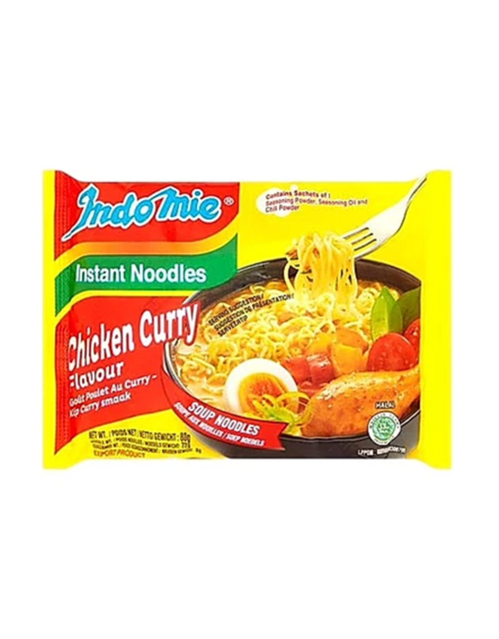 Indomie Bamisoep Chicken Curry 40 stuks